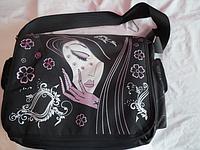 Модная сумка для девочек 2 отделение есть дополнительные карманы ручка регулируется!