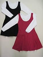Платье Школьное для девочки Размер 110 - 122 см