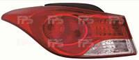 Фонарь задний для Hyundai Elantra MD '11- левый (DEPO) внешний
