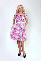Женское летнее платье из стрейч коттона, фото 1