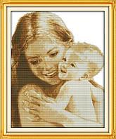 Набор для вышивки крестиком Мать и дитя.