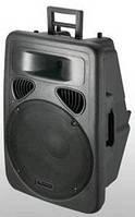 Мобильная активная акустическая система  PP1515A+MP3