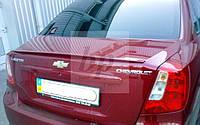 Lip Spoiler (лип спойлер багажника - сабля) Chevrolet lacetti (шевроле лачетти 2004+)