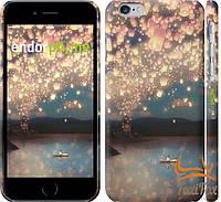 """Чехол для Apple iPhone 6 """" Небесные фонарики """""""