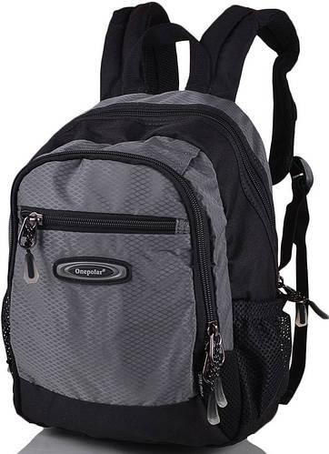 Оригинальный  школьный, рюкзак 20 л. Onepolar W1283-grey серый