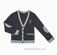 Кардиган Panda черный ПА-09130-13 с вышивкой 34 (Р-134, ОГ-68, ОТ-60)