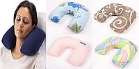 Дорожные подушки Exclusive Travel, Хлопок, Расцветки в ассортименте