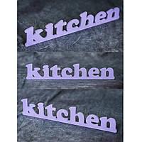 "Декоративная табличка ""Kitchen"""