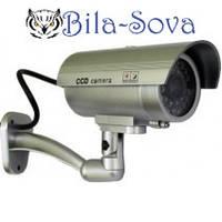 Муляж видеокамеры A-65 обманка видеонаблюдения наружной установки