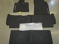 Комплект автомобильных ковриков для Lexus LX570 LX 570 резиновые новые оригинал