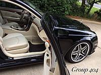 W211 Mercedes E внутренние накладки на пороги с подсветкой LED 2003-09