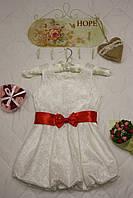 Платье детское Гипюровое (белое)