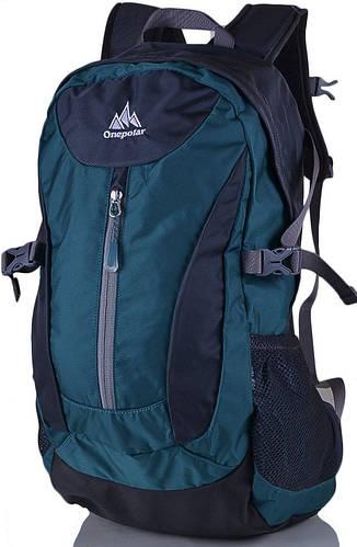 Удобный рюкзак стильного дизайна 20 л. Onepolar W1802-green зелёный