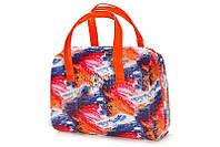 Яркая оранжевая женская сумка Roberto Cavalli