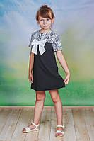 Сарафан школьный для девочки черный, фото 1
