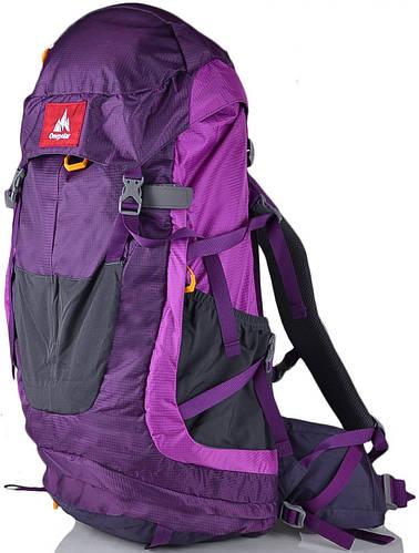 Качественный, туристический рюкзак 45 л. Onepolar W1638-violet фиолетовый