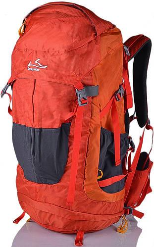 Вместительный, туристический рюкзак 45 л. Onepolar W1638-orange оранжевый