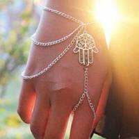 Слейв-браслет, браслет панья Рука Фатимы, Хамса