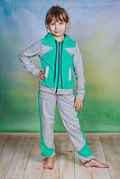 Детский спортивный костюм мята, фото 1