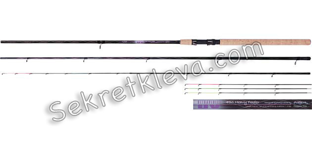 купить фидер mikado ultraviolet heavy feeder 360