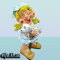 """Садовая фигура для дома и сада Гном """"Мультяшка Синеглазка"""" 55 см"""