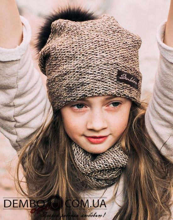 Вязание спортивной шапки для мальчика 37