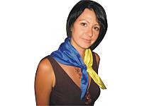Галстук Украинский флаг