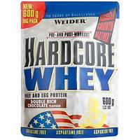 Weider Протеин Weider Hardcore Whey, 600 г (шоколад)
