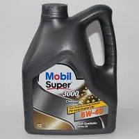 Моторное масло синтетика MOBIL (мобил) Super 3000 X1 Diesel 5W-40 4L
