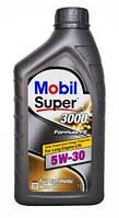 Масло моторное синтетика Mobil(мобил) Super 3000 X1 Formula FE 5W-30 1л.