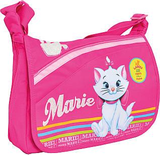 """Детская сумка почтальонка TB-01 """"Marie Cat"""" 1 Вересня 551588 малиновый"""