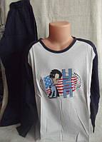 Комплект мальчик пижама хлопок ( кофта+штаны ) Natural Club Польша