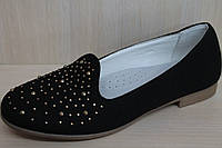 Подростковые туфли на девочку, школьная детская обувь тм Тom.m р.37
