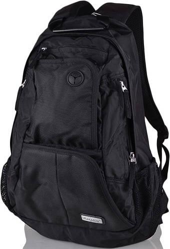 """Качественный мужской рюкзак для ноутбука диагональю 15,4"""" Onepolar W1295-black черный"""