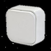 Выключатель 1-клавишный 10A белый Legrand Quteo (782200)