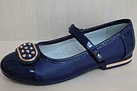 Подростковые туфли на девочку, школьная детская обувь тм Тom.m р.35