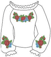Заготовки для детской вышиванки нитками для девочки 6-12 лет