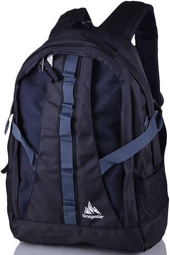 Мужской удобный городской рюкзак 25 л. Onepolar W921-blue