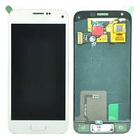 Samsung Galaxy S5 mini G800F white  LCD, модуль, дисплей с сенсорным экраном