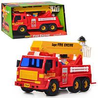 Детская Пожарная машина Daesung DS 404  инерционная