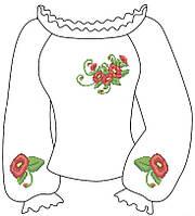 Заготовка  сорочки для девочки 2-5 лет