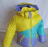 Куртка для девочки осенняя на 3-5 лет Веселка