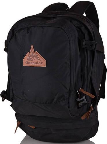 """Стильный рюкзак с отделением для ноутбука 15"""", 35 л. ONEPOLAR (ВАНПОЛАР) W1771-black"""
