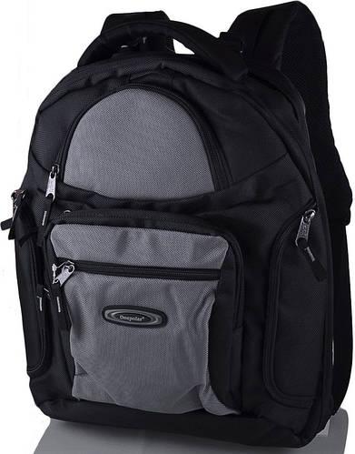 """Мужской качественный рюкзак 30 л. с отделением для ноутбука 15,4"""" ONEPOLAR (ВАНПОЛАР) W1063-grey серый"""