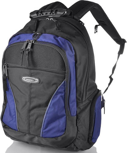 """Прочный рюкзак 30 л. с отделением для ноутбука 15,4"""" ONEPOLAR (ВАНПОЛАР) W1077-navy синий"""