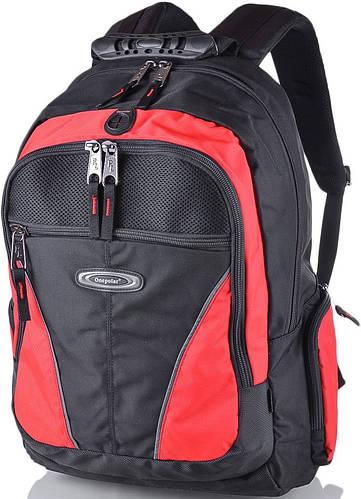 """Замечательный рюкзак 30 л. с отделением для ноутбука 15,4"""" ONEPOLAR (ВАНПОЛАР) W1077-red красный"""