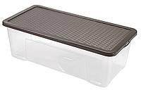 Контейнер для хранения пластиковый 65л, 80*40*26 см, Heidrun 4688