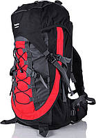 Качественный походный рюкзак туристический 55 л. Onepolar W836-red красный
