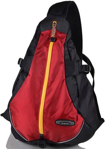 Городской качественный рюкзак-гитара  20 л. Onepolar (Ванполар) W1305-red красный