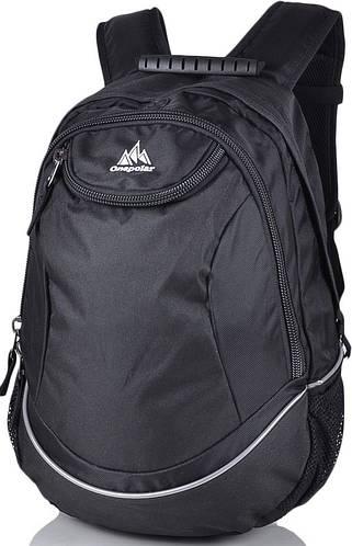Рюкзак унисекс молодежный 25 л.Onepolar W1675-black черный